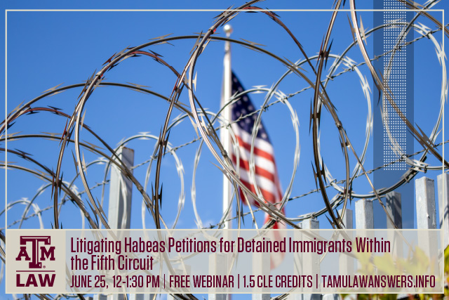 Detained Immigrants Webinar