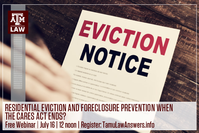 Evictions and Foreclosures Header